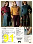 1982 Sears Fall Winter Catalog, Page 91