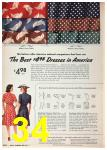 1942 Sears Spring Summer Catalog, Page 34