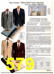 1982 Sears Fall Winter Catalog, Page 579