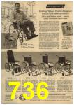 1961 Sears Spring Summer Catalog, Page 736