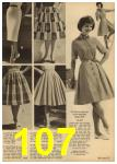 1961 Sears Spring Summer Catalog, Page 107