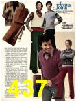 1973 Sears Fall Winter Catalog, Page 437