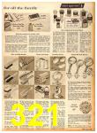 1958 Sears Fall Winter Catalog, Page 321