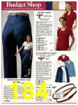 1981 Sears Spring Summer Catalog, Page 184