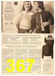 1956 Sears Fall Winter Catalog, Page 367