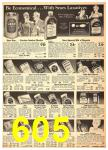 1940 Sears Fall Winter Catalog, Page 605