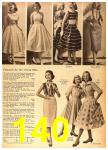 1958 Sears Spring Summer Catalog, Page 140