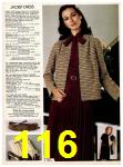 1982 Sears Fall Winter Catalog, Page 116