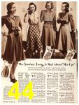 1940 Sears Fall Winter Catalog, Page 44
