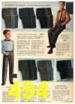 1962 Sears Fall Winter Catalog, Page 494