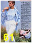 1988 Sears Spring Summer Catalog, Page 61
