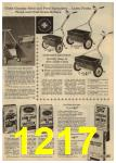 1961 Sears Spring Summer Catalog, Page 1217