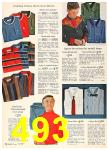 1962 Sears Fall Winter Catalog, Page 493