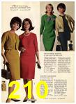 1965 Sears Fall Winter Catalog, Page 210
