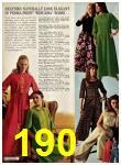 1969 Sears Fall Winter Catalog, Page 190