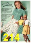 1969 Sears Spring Summer Catalog, Page 214