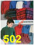 1988 Sears Fall Winter Catalog, Page 502