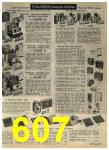 1968 Sears Fall Winter Catalog, Page 607
