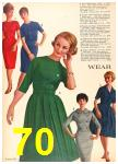 1962 Sears Fall Winter Catalog, Page 70