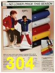 1987 Sears Spring Summer Catalog, Page 304