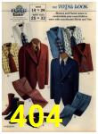 1972 Sears Fall Winter Catalog, Page 404