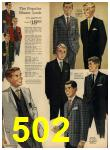 1962 Sears Spring Summer Catalog, Page 502