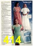 1977 Sears Spring Summer Catalog, Page 414