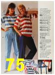 1987 Sears Spring Summer Catalog, Page 75