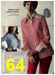 1973 Sears Fall Winter Catalog, Page 64