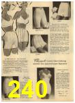 1960 Sears Spring Summer Catalog, Page 240