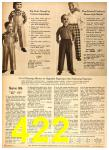 1958 Sears Fall Winter Catalog, Page 422