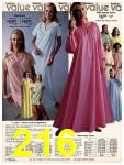 1981 Sears Spring Summer Catalog, Page 216