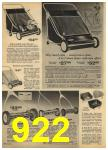 1965 Sears Spring Summer Catalog, Page 922