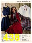 1982 Sears Fall Winter Catalog, Page 438