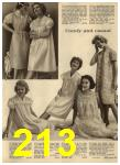 1960 Sears Spring Summer Catalog, Page 213