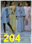 1980 Sears Fall Winter Catalog, Page 204
