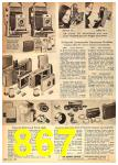 1962 Sears Fall Winter Catalog, Page 867