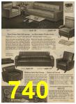 1959 Sears Spring Summer Catalog, Page 740