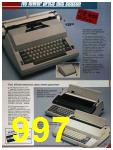1986 Sears Fall Winter Catalog, Page 997