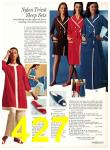 1971 Sears Fall Winter Catalog, Page 427