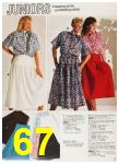 1987 Sears Spring Summer Catalog, Page 67