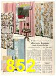 1956 Sears Fall Winter Catalog, Page 852