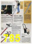 1989 Sears Home Annual Catalog, Page 785