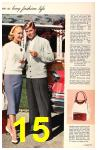 1958 Sears Spring Summer Catalog, Page 15