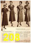 1949 Sears Spring Summer Catalog, Page 208