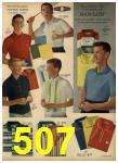 1962 Sears Spring Summer Catalog, Page 507