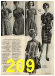 1968 Sears Fall Winter Catalog, Page 209