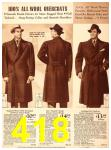 1940 Sears Fall Winter Catalog, Page 418