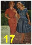 1961 Sears Spring Summer Catalog, Page 17