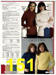 1982 Sears Fall Winter Catalog, Page 151